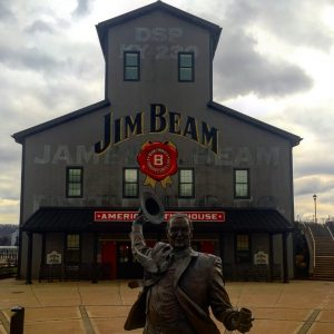 Jim Beam along Kentucky Bourbon Trail