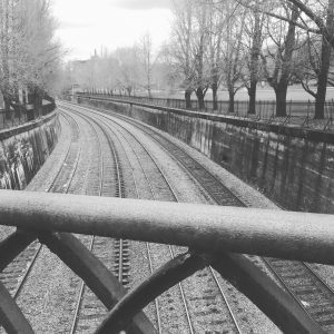 Pittsburgh Train Tracks