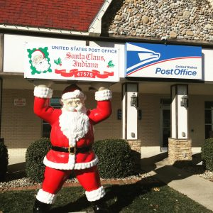 Santa Claus Indiana Post Office