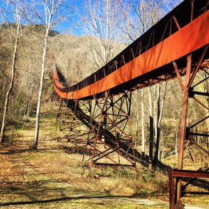 Abandoned Nuttalburg in West Virginia
