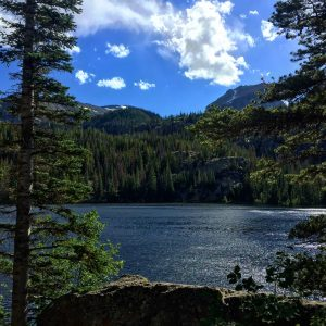 Rocky Mountain National Park with kids: Bear Lake