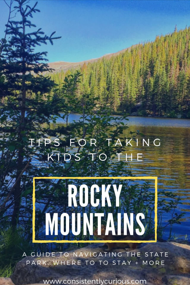 rocky mountains with kids