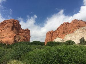Rock Formations in Garden of the Gods