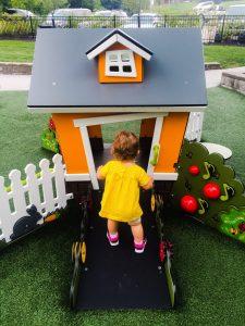 Infant/ Toddler Area of West Fork Park
