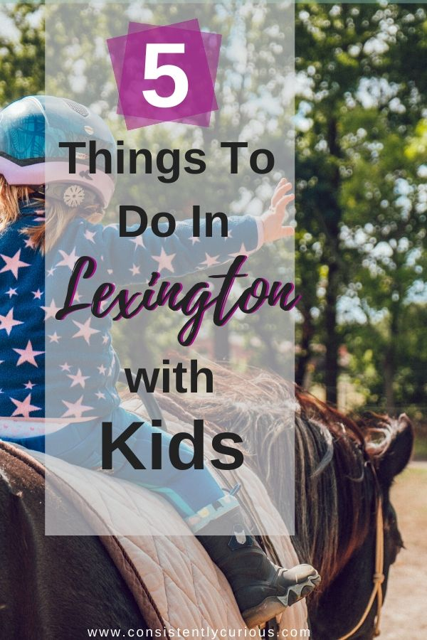 Things to do In Lexington With Kids