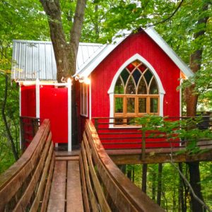 Tree Houses in Mohican