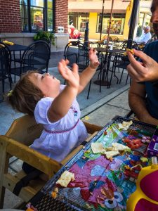 Traveling with a young toddler tips