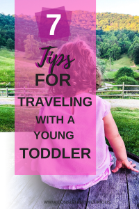 Traveling with a young toddler