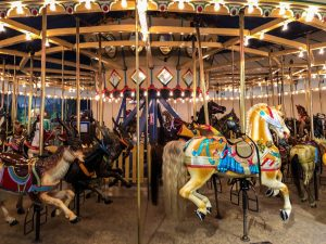 Carousel at the Indianapolis Children's Museum