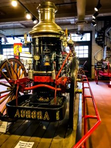 The Aurora Fire Engine at the Cincinnati Fire Museum