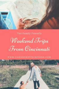 Ten Family Friendly Weekend Trips From Cincinnati