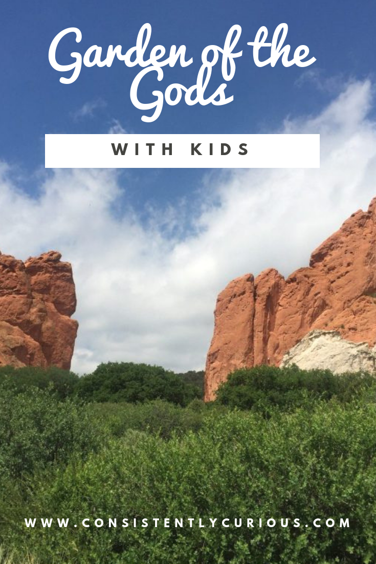 Garden of the Gods with Kids