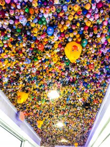 Rubber Duck Ceiling at the Hangout in Gulf Shores