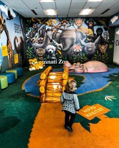 Play area at CVG Airport