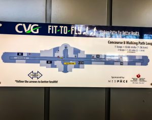 Fit To Fly at CVG Airport