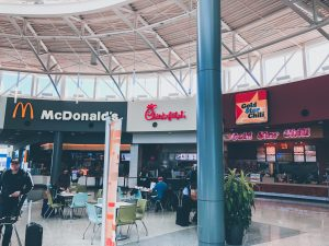 Food Court Options at CVG