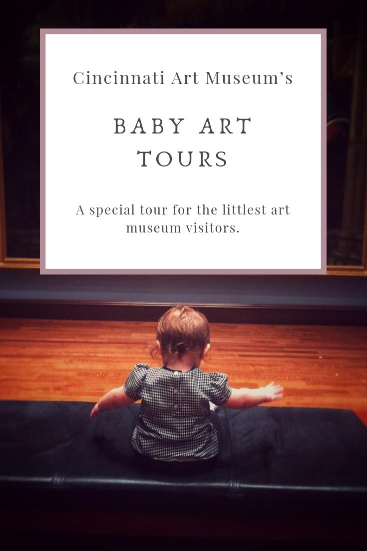 Cincinnati Art Museum Baby Art Tours