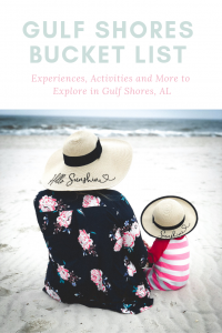 Gulf Shores Bucket List Activities