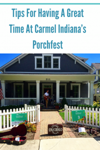 Tips for Carmel Indiana's Porchfest