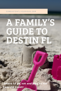 A Guide to Destin Florida with Kids