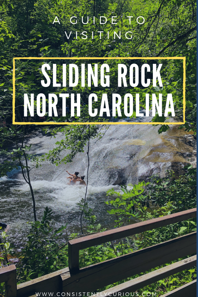 Sliding Rock Waterfall In NC