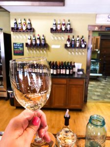 Wine Tasting in Brown County Indiana