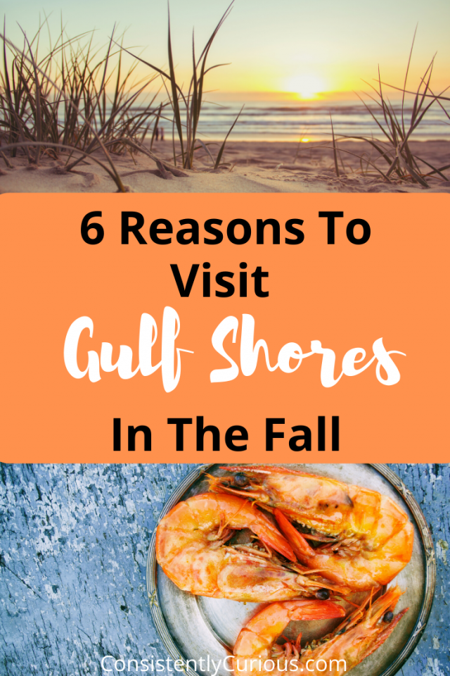 Best Places To Visit In The Fall In The US: Gulf Shores Alabama
