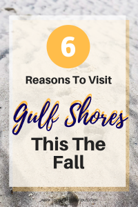Gulf Shores in the fall
