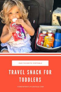 Travel snacks for toddlers