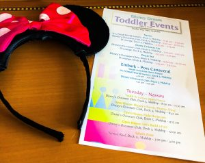 Toddler Events On A Disney Cruise