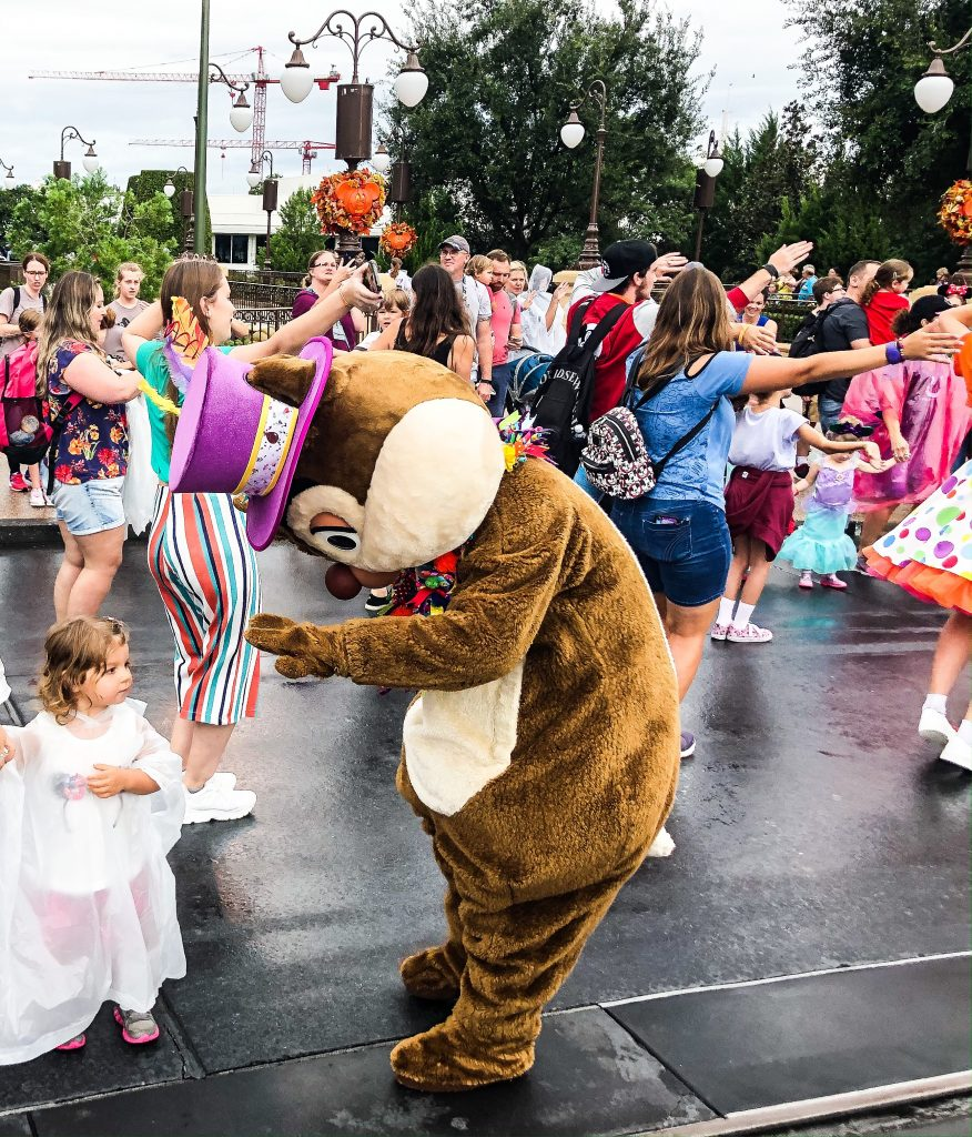 Disney Parades and Shows In The Rain