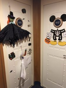 Decorating Door During A Disney Cruise