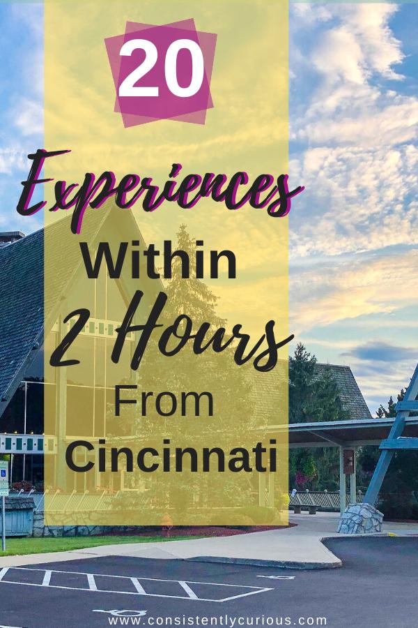 day trips from Cincinnati