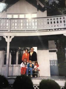 My grandparents and family in Pigeon Forge