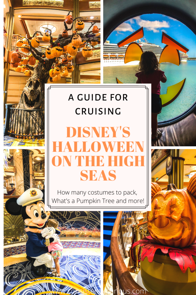 Disney Cruise: Halloween On The High Sea