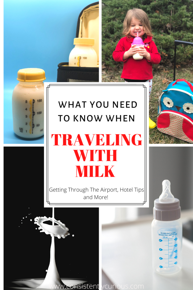 Traveling With Milk For Toddler