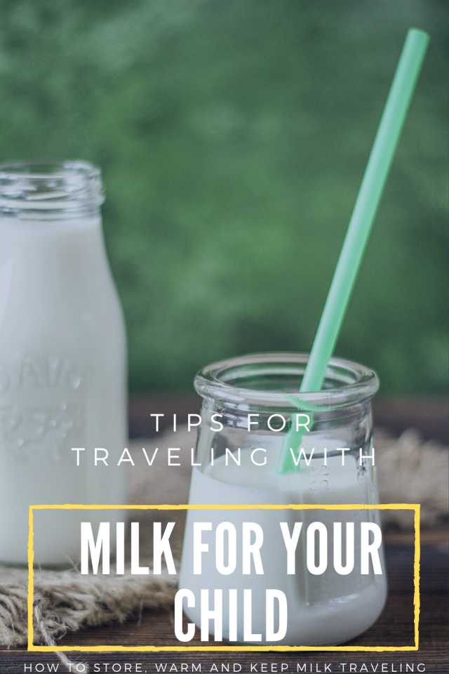 How to travel with milk
