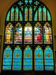 Tiffany Stain Glass Window Trail