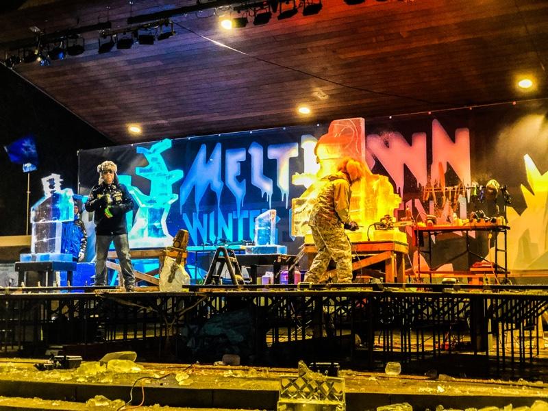 Throwdown at Meltdown Ice Festival