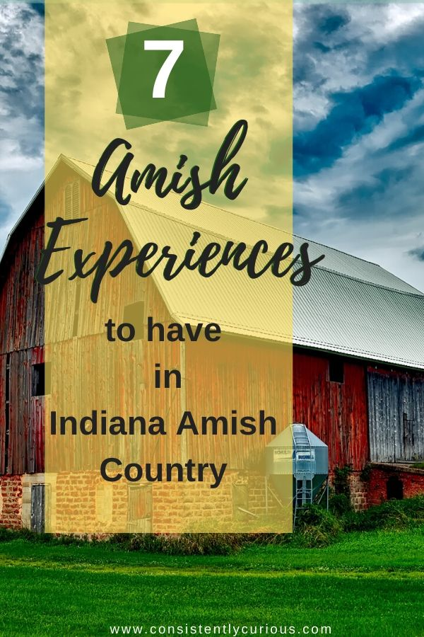 Amish experiences in Indiana Amish Country