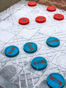 Ice Checkers