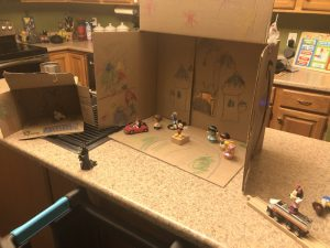 Create Your Own Cardboard Disney World