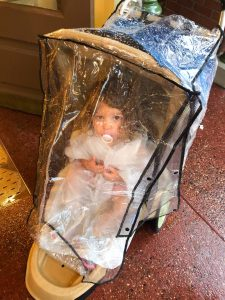 Ponchos and Stroller Covers In Disney World