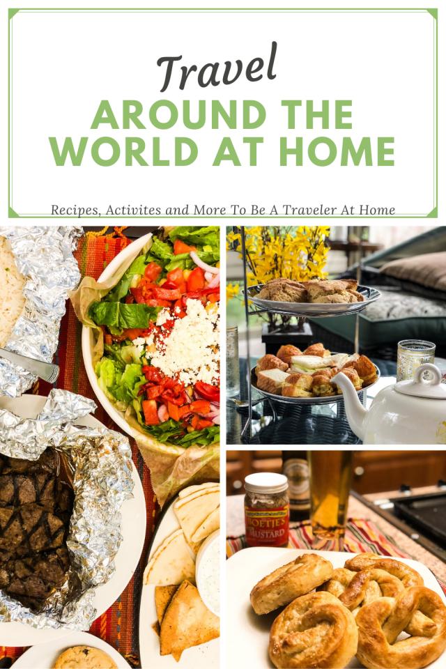 Travel Around The World At Home