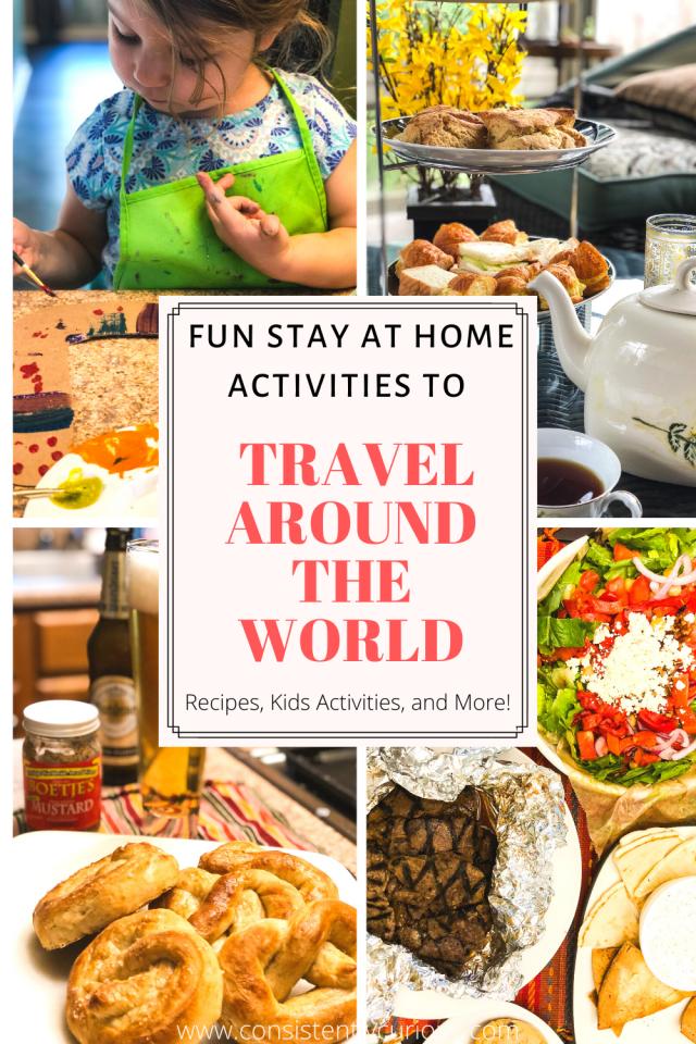 Travel Around The World Activities