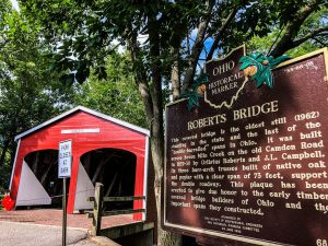 Covered Bridges In Ohio: Roberts Bridge