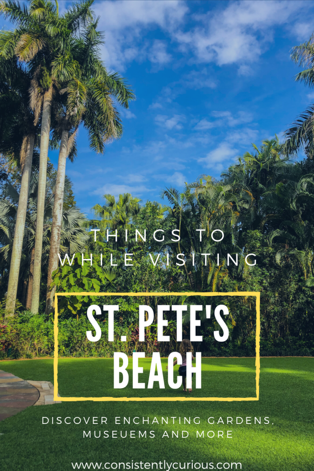 things to do in st. petes beach