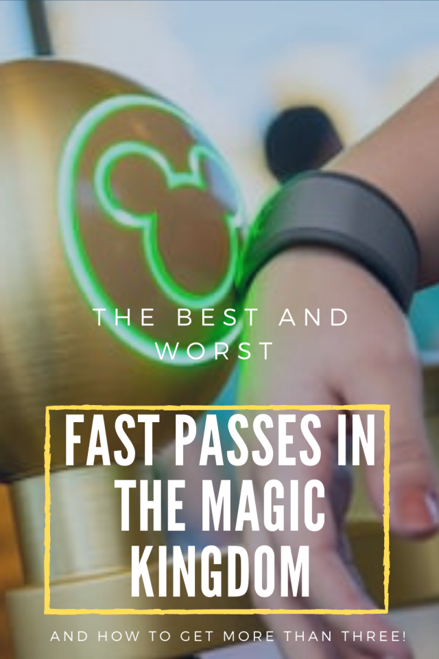 Fast Pass Tips For Magic Kingdom