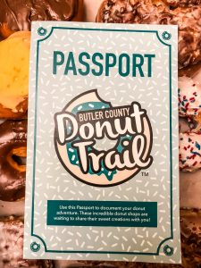 Butler County Donut Trail Passport