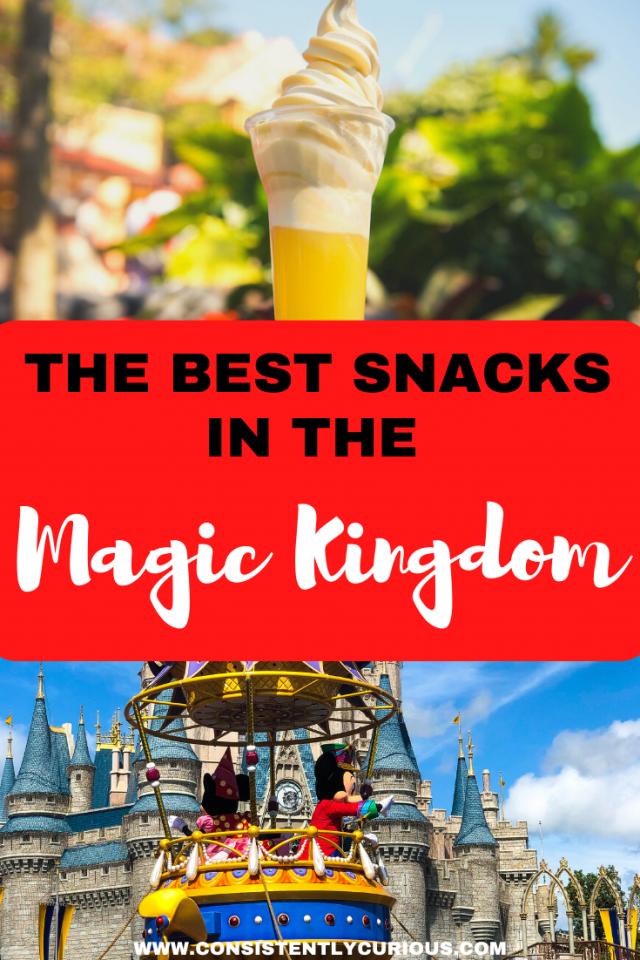 Best Snacks In The Magic Kingdom